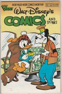 Comics and Stories, Walt Disney's #544 (Nov-89) NM- High-Grade Donald Duck, H...