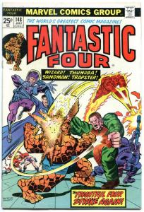 FANTASTIC FOUR #148, FN/VF, Sandman, Wizard, Thundra, 1961, more Marvel in store
