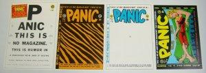 Panic Portfolio by Al Feldstein - ec comics - russ cochran - art set 1985