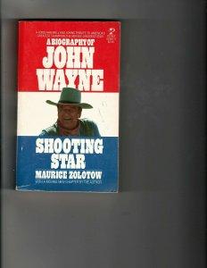 3 Books Biography of John Wayne Shooting Star Action of the Tiger Duke JK27