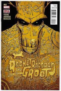 Rocket Raccoon & Groot #2 (Marvel, 2016) VF/NM