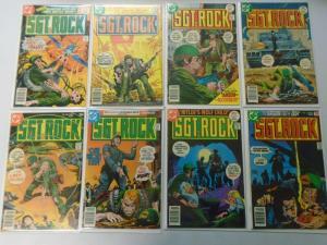 Bronze Age DC War Comics Lot Sgt. Rock From:#302-349, 31 Diff. Avg 5.0 (1977-81)