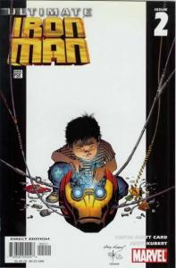 Ultimate Iron Man #2, NM- (Stock photo)