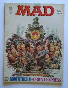 MAD Magazine Orient Express Oct 1975 No 178 Godfather II All In The Family