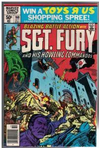 SERGEANT FURY 160 FN-  Oct. 1980