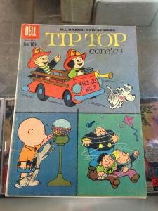 Tip Top Comics 222  VG-/VG Peanuts appearance   1960