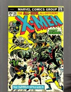 (Uncanny) X-Men # 96 VF/NM Marvel Comic Book Beast Angel Cyclops Magneto SM19