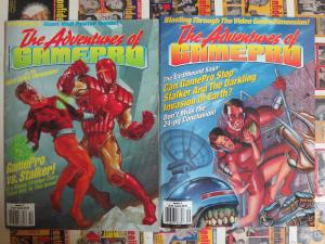 The Adventures of Gamepro #2, 3  Gritty Video Game Comics by Francis Mao