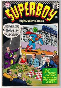 SUPERBOY #140, FN, Lucky Lucifer, Gambler, Smallville, 1949, more in store