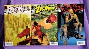 Arvid Nelson ZERO KILLER #1 - 3 Matt Camp (Dark Horse, 2007)!
