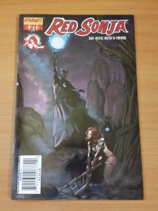 Red Sonja #21 Cover C ~ NEAR MINT NM ~ 2007 Dynamite Comics