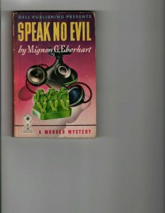 3 Books Speak No Evil The Avengers 4 Heil Harris A Man Called Spade JK8