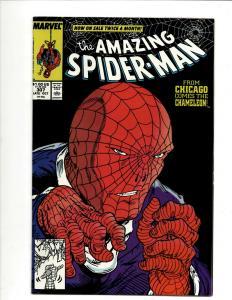 Amazing Spider-Man # 307 NM Marvel Comic Book Venom Todd McFarlane DS4