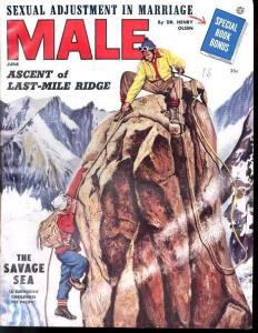 MALE 1954 JUN-ROCK CLIMBING COVER-ATLAS FN