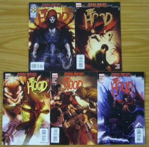 Dark Reign: the Hood #1-5 VF/NM complete series - jeff parker - kyle hotz set