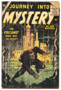 Journey Into Mystery 1956- Atlas Horror comic- incomplete