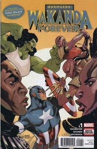 Wakanda Forever Avengers #1 2019 Marvel Comics