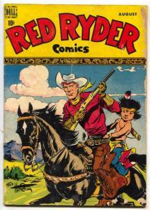 Red Ryder #73 1949-Dell Western-Little Beaver G