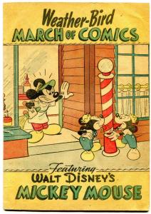 March of Comics #45 1945- Mickey Mouse- Weather-Bird VG-
