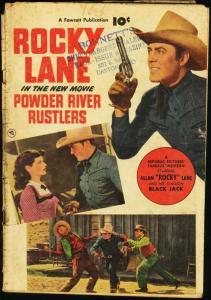 POWDER RIVER RUSTLERS-FAWCETT MOVIE COMIC G