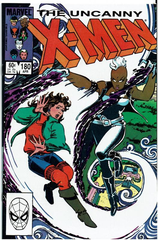 X-Men #180, 9.0 or better, Secret Wars I Prequel