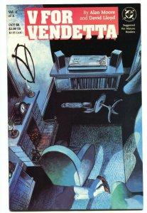 V For Vendetta #2 1988 DC Comic Book Alan Moore - NM-
