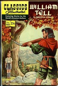 Classics Illustrated #101 1969-Gilberton-William Tell-HRN 169-Schiller-VF