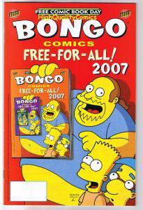 BONGO COMICS FREE-FOR-ALL, Futurama, FCBD,2007, NM