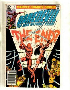 Daredevil # 175 VF/NM Marvel Comic Book Karen Foggy Hell's Kitchen Bullseye HY1
