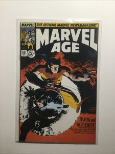 Marvel Age 68 Near Mint Nm Marvel