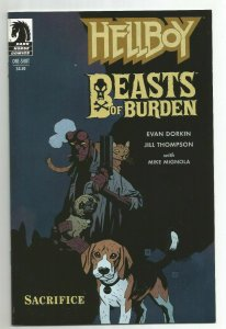 Hellboy Beasts Of Burden Sacrifice One Shot NM- Mike Mignola Variant Cover