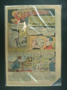 Superman #160 1963 Silver Age Comic Coverless & Corner Less DC Comics