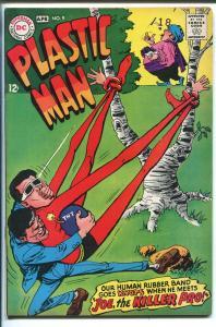 PLASTIC MAN #9 1968-DC COMICS-WEIRD COVER-SLINGSHOT-vf minus