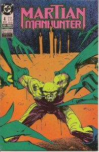 MARTIAN MANHUNTER #4, VF/NM, Badger, DC 1988  more DC in store