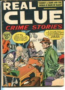 Real Clue Crime Stories Vol. 2 #7 1947-Trojan-4th issue-Simon & Kirby-Tracy-VG-