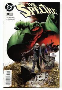 Spectre #54 1997 1st appearance of Mr. Terrific comic book