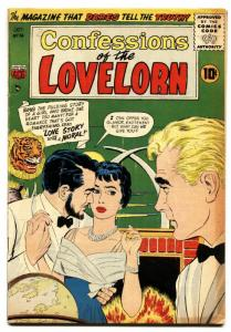 Confessions of The Lovelorn #74 1956-ACG Romance comic- FN-