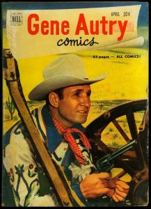 Gene Autry Comics #50 1951- Dell Western G