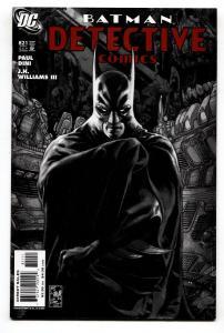 Detective Comics #821 1st appearance of FACADE - DC comic book