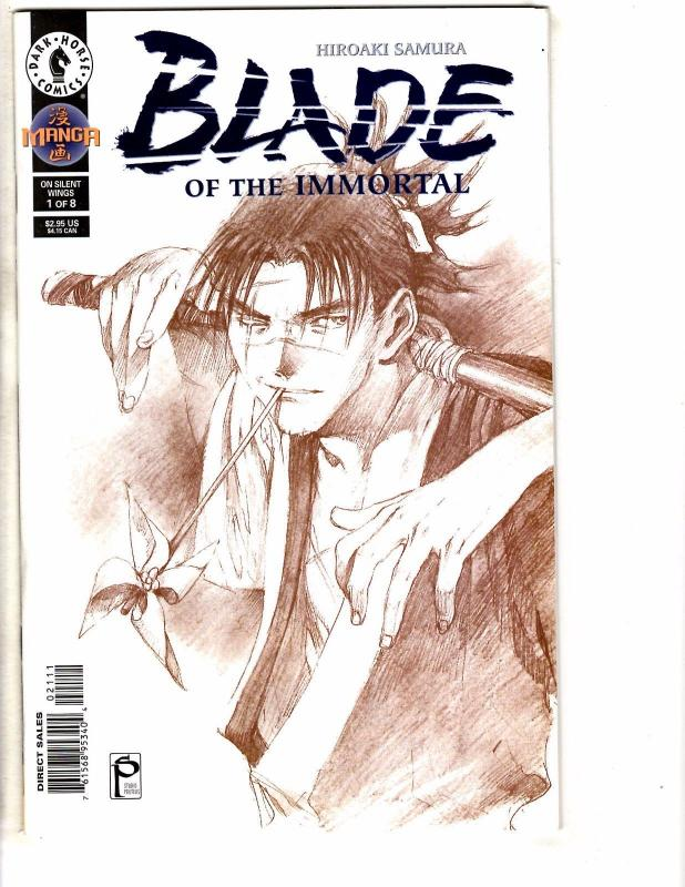 3 Blade Of The Immortal Dark Horse manga Comic Books # 1 # 1 2 Rin's Bane AB2