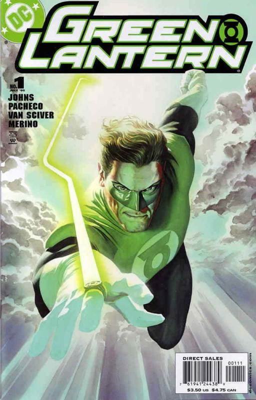 Green Lantern (4th Series) #1A VF/NM; DC | save on shipping - details inside