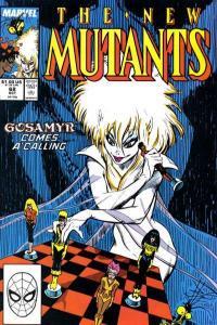 New Mutants (1983 series) #68, VF+ (Stock photo)