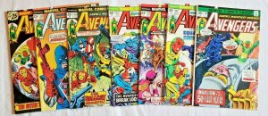 Avengers 1975 #140,141,142,143,144,145,146,147 LOT price on all 7  VF/NM
