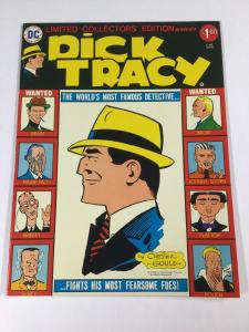 Dick Tracy Treasury Size Limited Collectors Edition Dc Comics Vf Very Fine 8.0