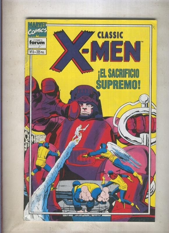 Classic X Men volumen 2 numero 08: Prisioneros del misterioso molde maestro (...