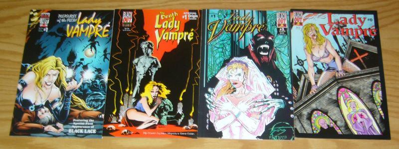 Lady Vampre #0-1 VF/NM complete series + death + pleasures of the flesh vampire
