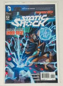STATIC SHOCK #1-8 COMPLETE RUN (DC)
