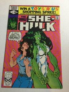 Savage She-Hulk 9 Nm Near Mint Marvel Comics
