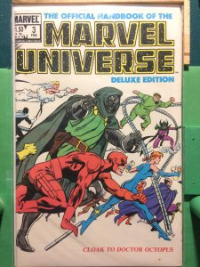 The Official Handbook of the Marvel Universe #3 Deluxe Edition