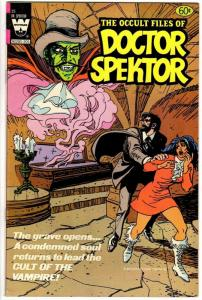 OCCULT FILES OF DOCTOR SPEKTOR 25 FN- May 1982